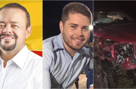 Urgente: pré-candidato a prefeito de Glória, Cícero Moraes e sobrinho sofrem grave acidente de carro a caminho da Quixaba